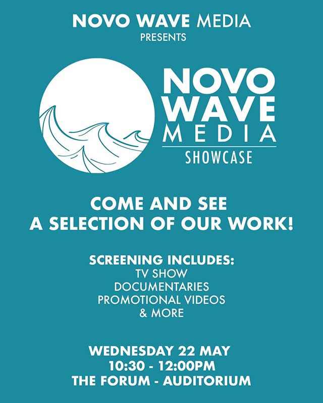 Come and see a selection of our work! Tickets available for free at the link in our bio! . . . @citycollegenorwich #novowavemedia #norwich #norwichevents #film #documentary #norfolk #media #sliceofscience #norfolkcoast50 #freeevents #norwichbloggers #video #videoproduction #youngfilmmakers #medialearningcompany