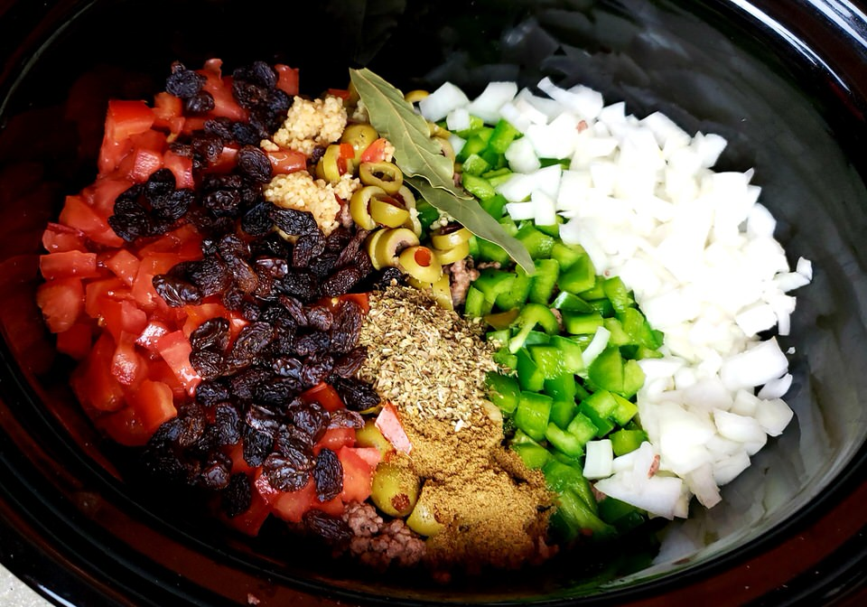 Crock pot Picadillo