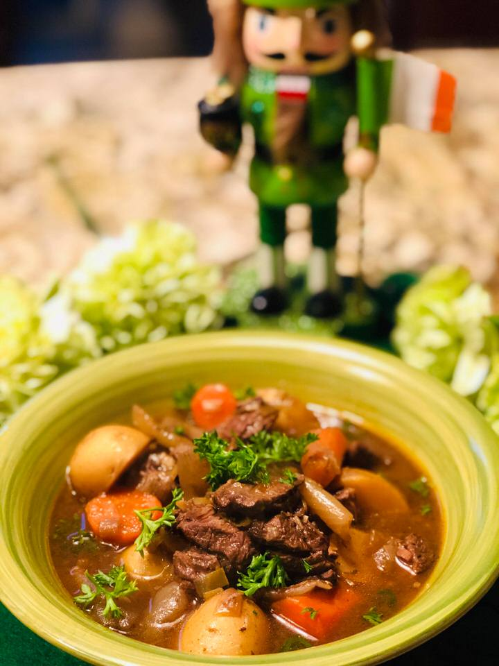 Irish stew slow cooker recipe.