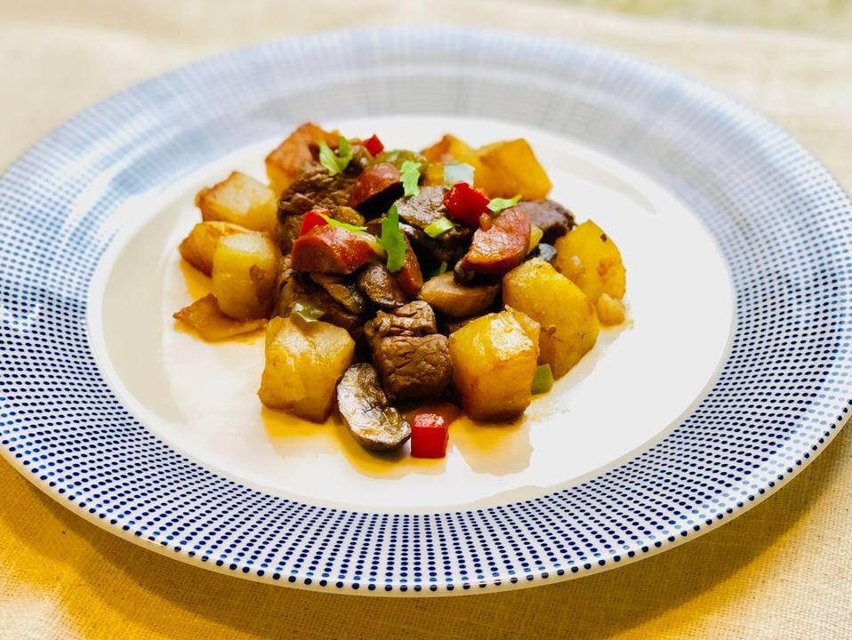 Filer Salteado Dish.