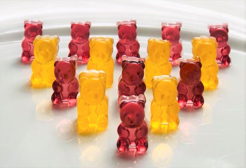Low carb fruit gummies