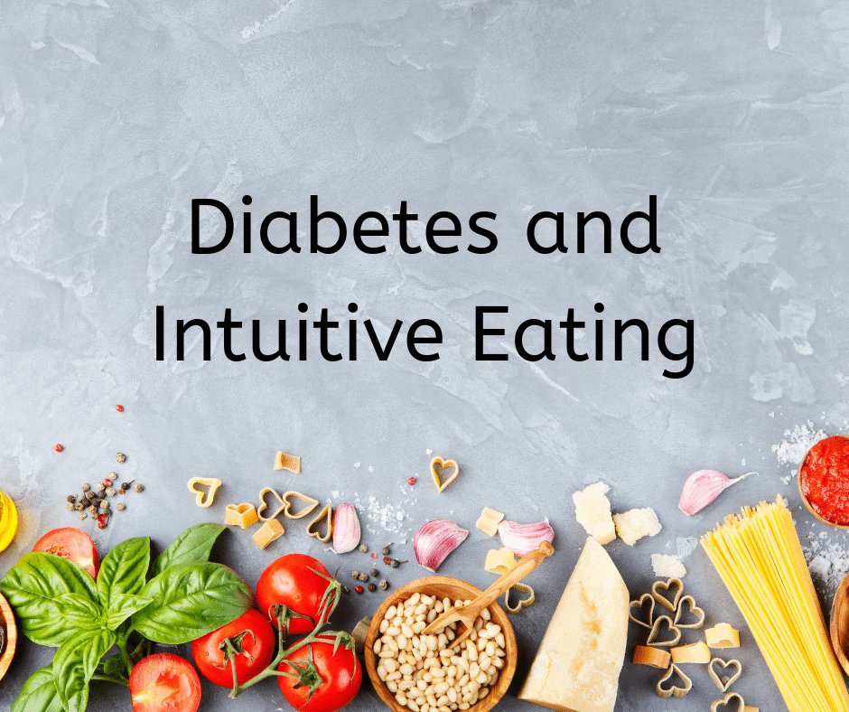 Eating Intuitively with diabetes!