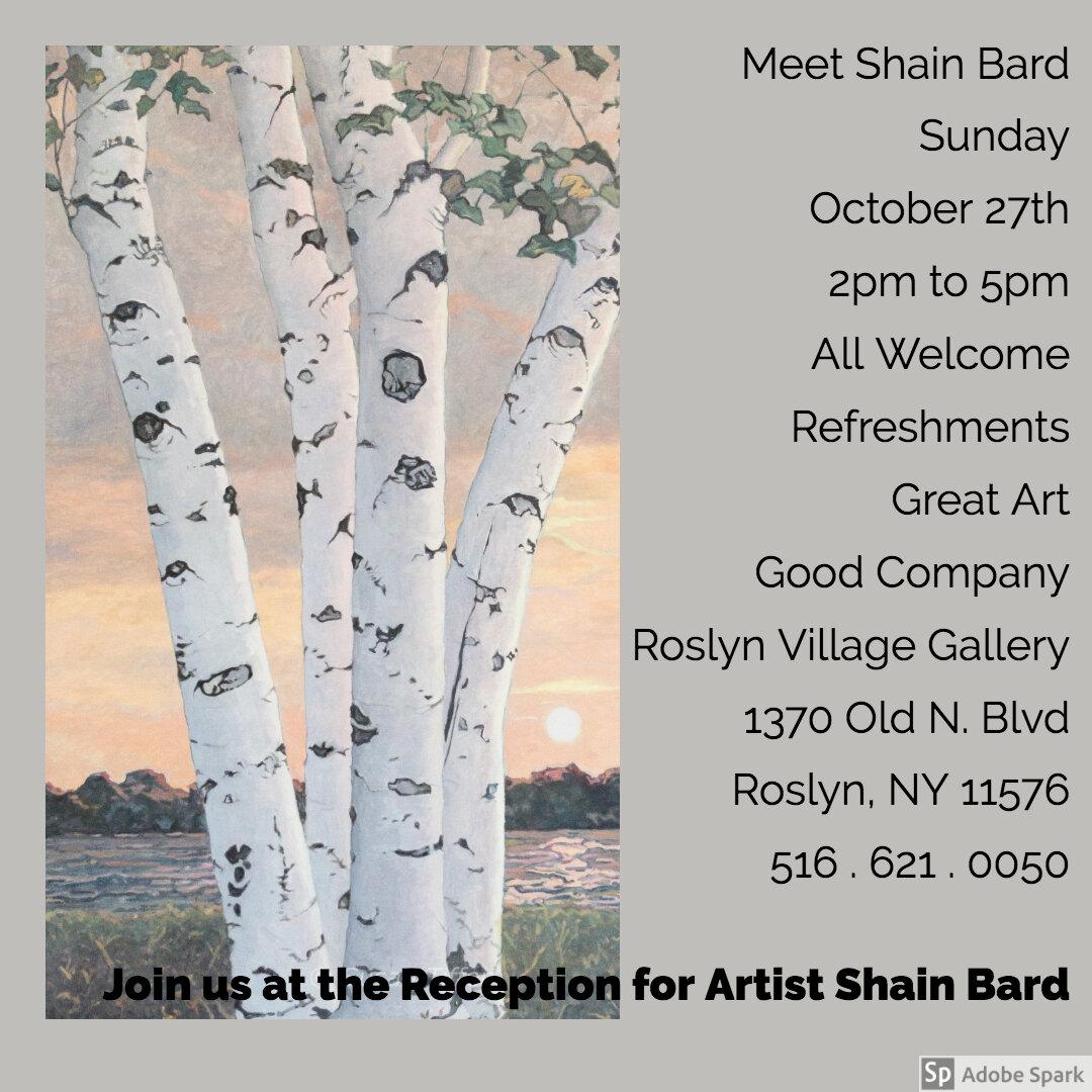 Shain Bard Reception October 27