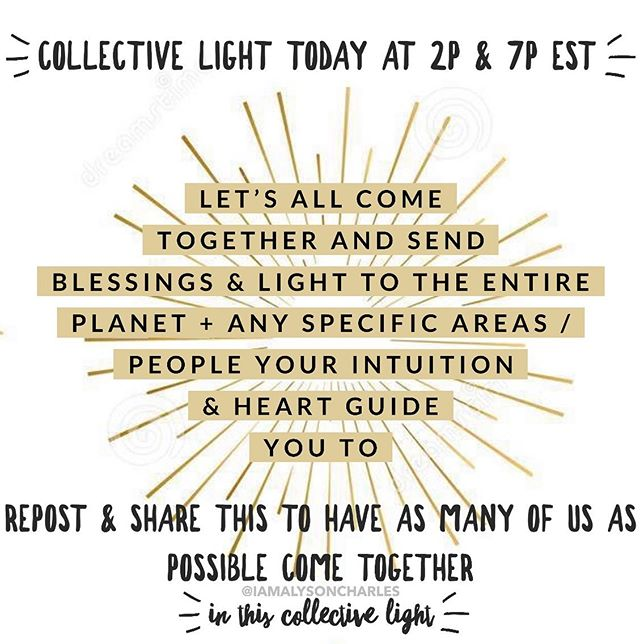 Comment ILLUMINATION or your fav blessed / light emoji ✨🕯🌠💛🙌🏾 If you'll join me & thousands of others around the planet in doing this today!⁣⁣ ⁣⁣ When I woke up this morning I was Divinely instructed to get this light activation going + see who will join in it!⁣ ⁣⁣ ✨🙏🏼I was shown that today a big dose of Divine light and blessed energies are realllly needed. ⁣⁣ ⁣⁣ 🌞✨When we come together we are monumentally stronger, it rebalances and restores consciousness medicine to the planet & bathes all living beings in waves of harmonization ⁣⁣ ⁣ This work is for the ones who trust in the unseen, who know the power of the collective, who know the miracles of energies & how MASSIVE & powerful these universal truths are 🙌🏾⁣ ⁣⁣ We are the ones to do this ⁣⁣ ⁣⁣ We are the ones here to do these great acts⁣⁣ ⁣⁣ ✨🌎🌠 It is up to US to take these steps to keep gridding in a New Earth and creating the shift back to oneness and love that we are here to do ⁣⁣ ⁣⁣ Repost this image to your feed & stories!! Let's gather and send SO much light to the world today that it becomes undeniable that we did it ✨🙌🏾✨ #rockstarshaman #sunday #ILLUMINATION