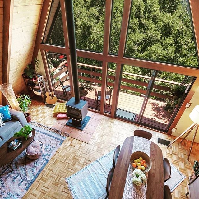 Woodsy A-Frame nestled in oaks in the Fernwood neighborhood of Topanga Canyon. Canyon views, living room with loft, bonus room below home, plus a $14,363 refund when you buy 19650 Valley View with inhaus. Purchase price $1,149,000 #aframe #topanga . #goinhaus #realestate #realestateforsale #CaliforniaRealestate #luxuryrealestate #realestateagent #realestatelife #milliondollarlisting #californiadreaming #californialiving #archilovers #architecturelovers #househunting #homesweethome . Listing courtesy Sophie Zeiler | Snyder Sutton Real Estate