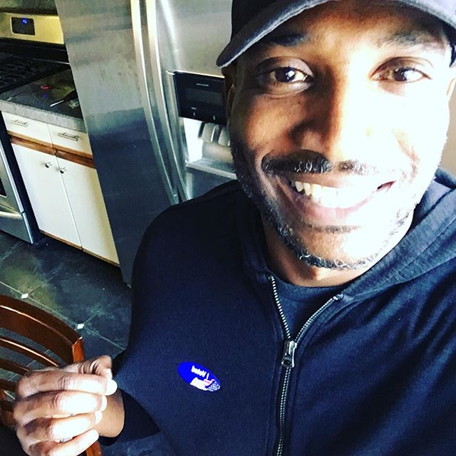 Civic responsibility fulfilled!! #vote #voter #duty #life #change #power #history #future