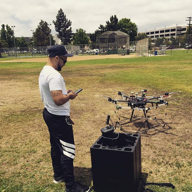 Our friends over at @promo.drone are working on something epic!!! #business #innovation #partners #friends #grow #success