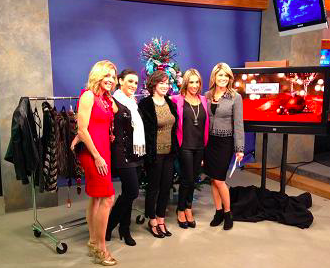 Holiday Perfection pieces from the Morning show. 2013