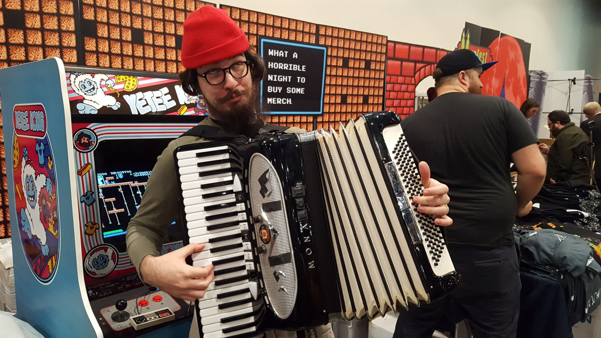 Jackson Alexander Parodi, accordion expert and MAGFest treasure.