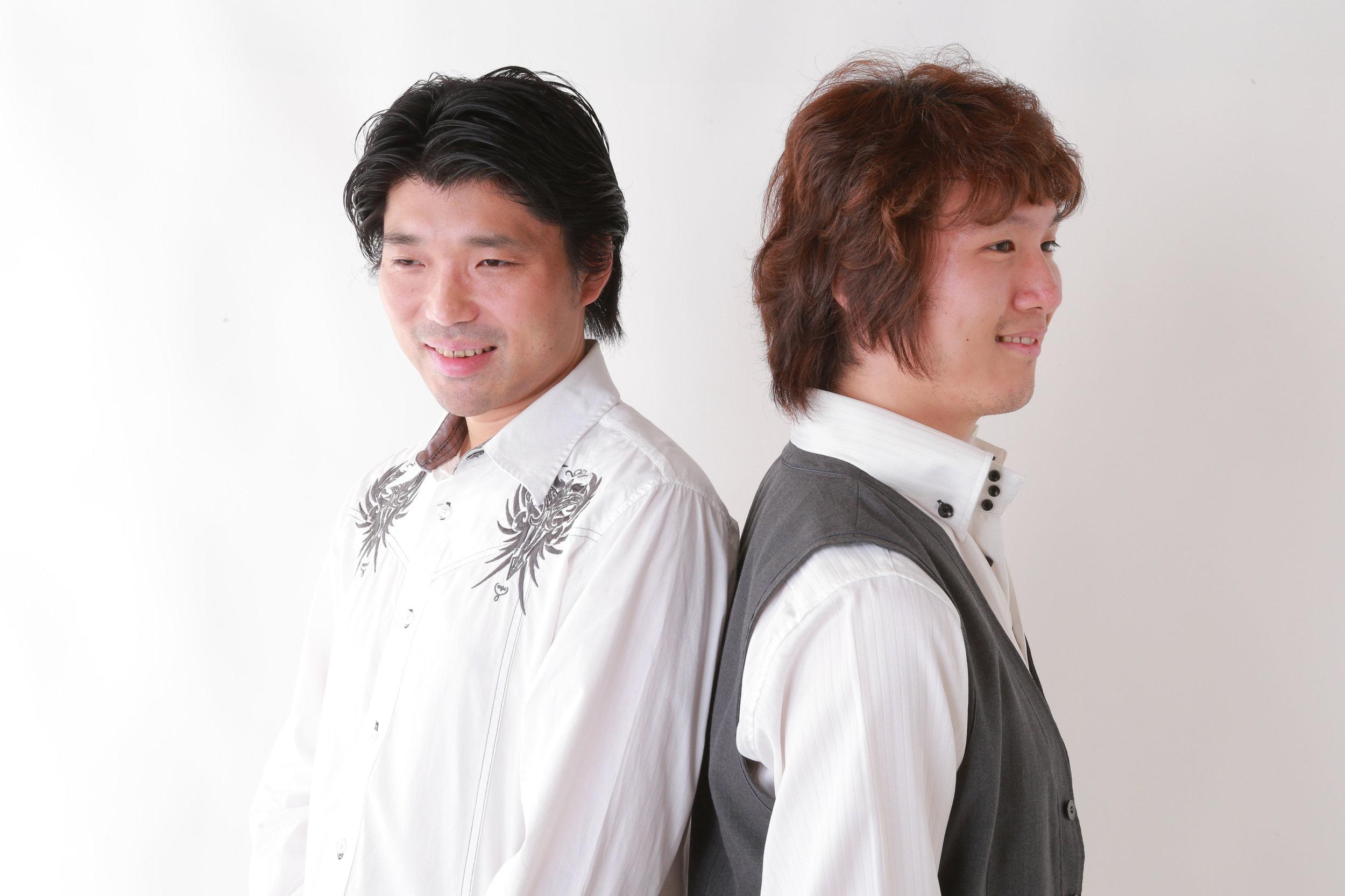 GENTLE LOVE - Norihiko Hibino (Left) and AYAKI (Right)