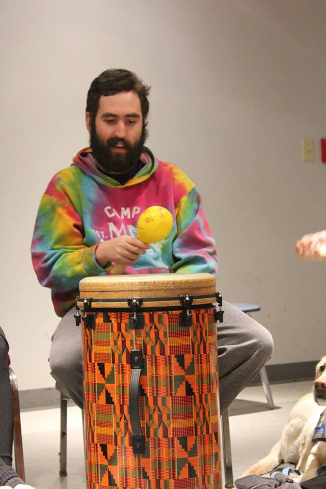 Avi at Drum Circle