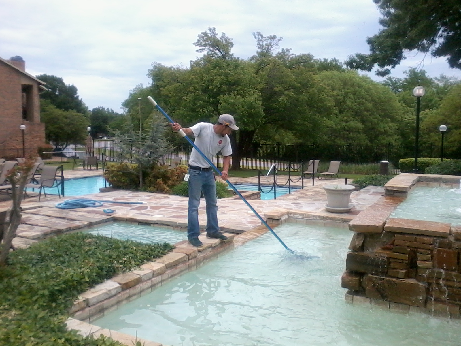 We offer full-service pool care so you can focus on your backyard vacation.
