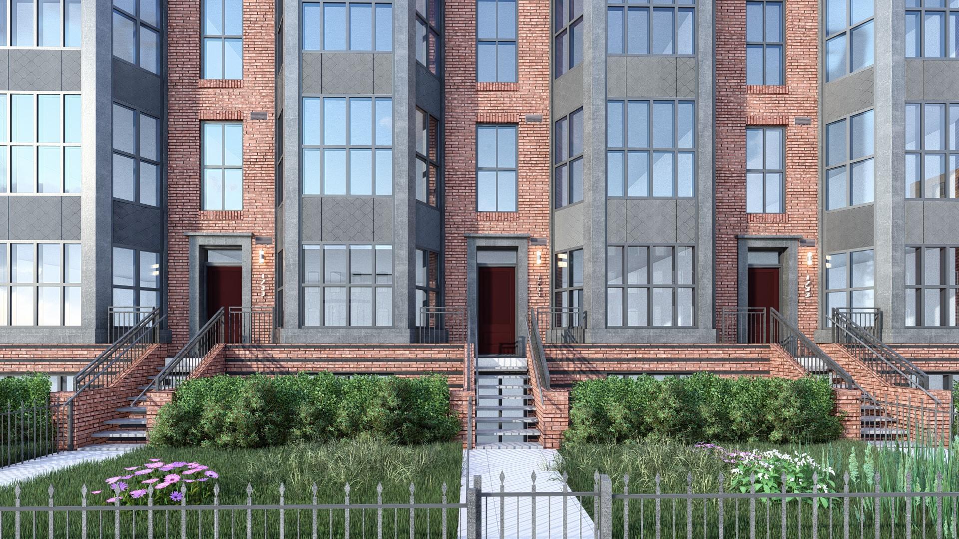 Apartment Walk-Ups on S Street