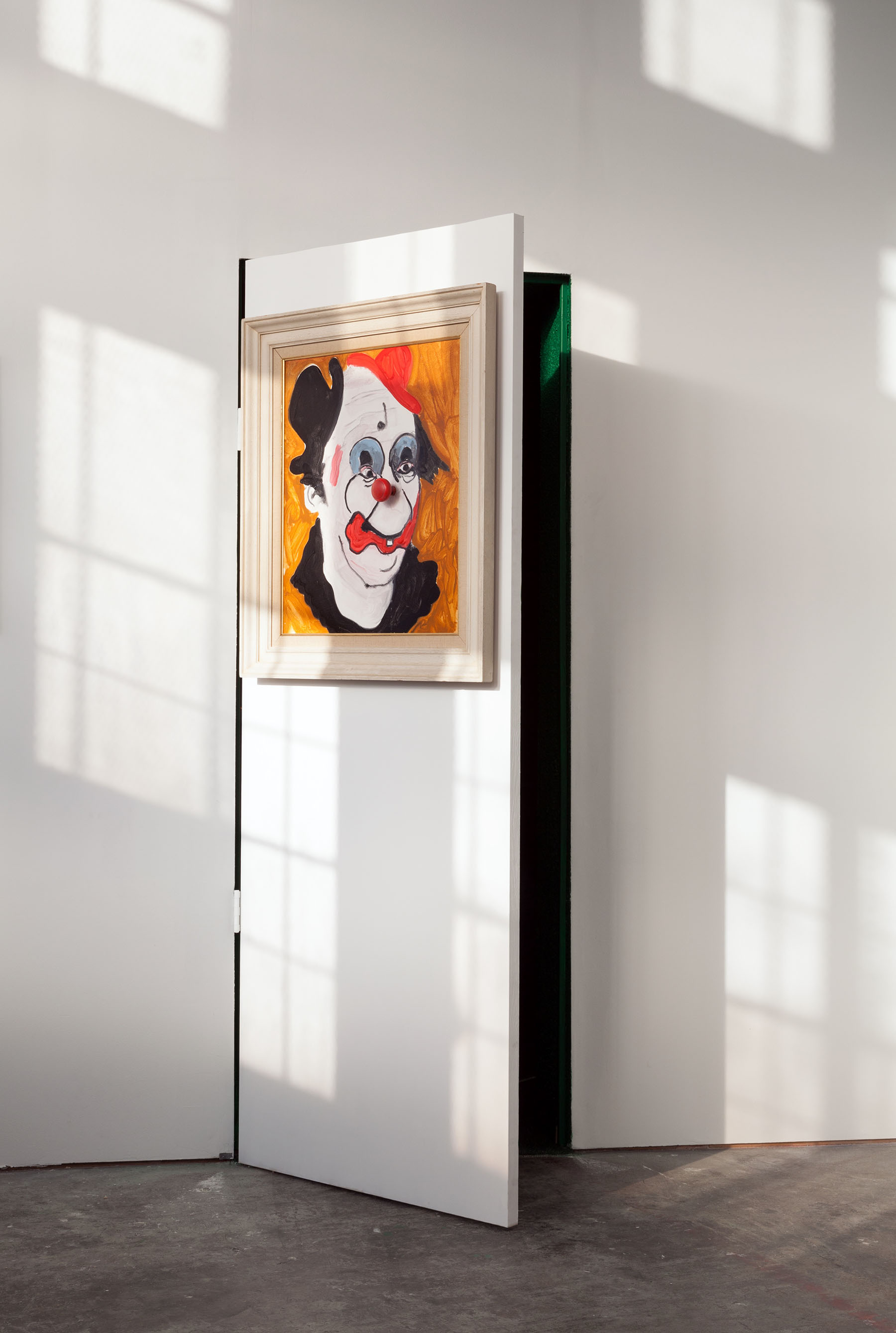 Artist Oliver Sweet created the Tickles Door Painting.