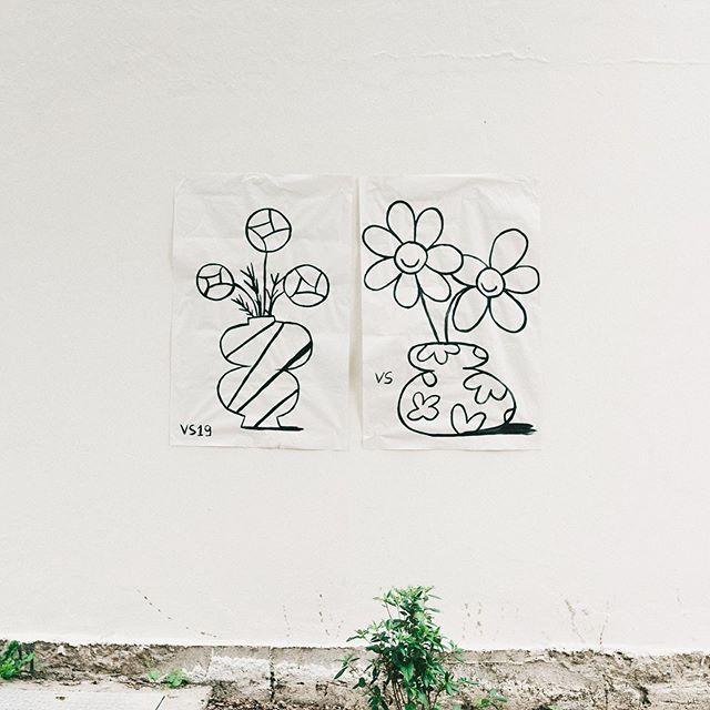 Vases et fleurs #rennes . @studio_vraimentsympa