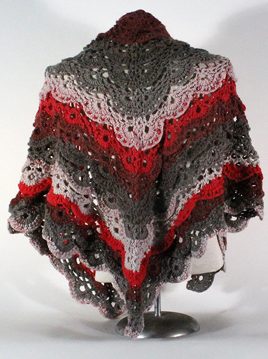 Meringue Shawl