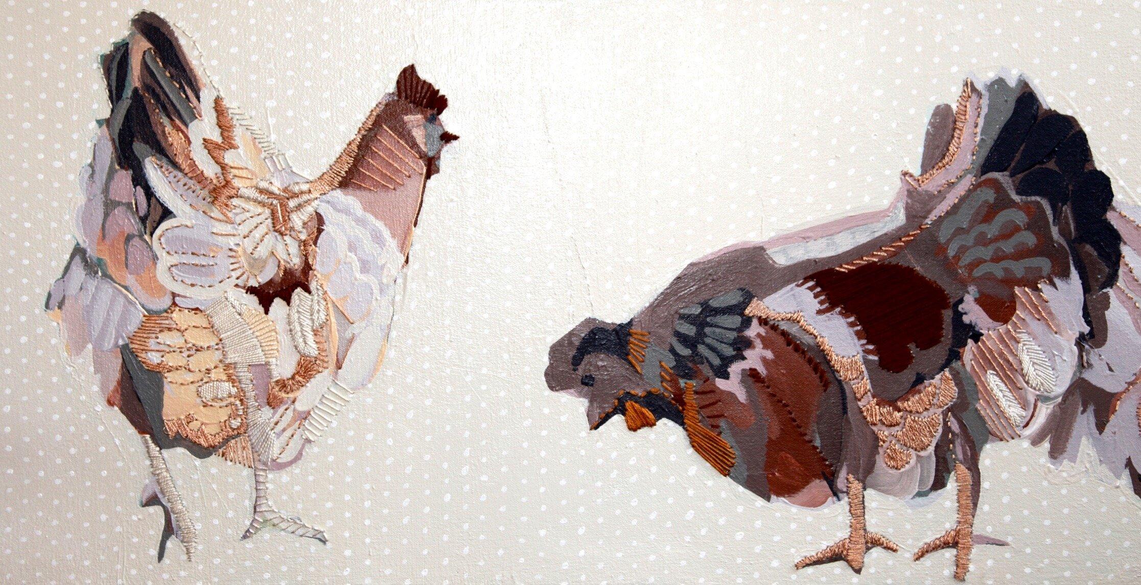 "detail from chicken coop"""