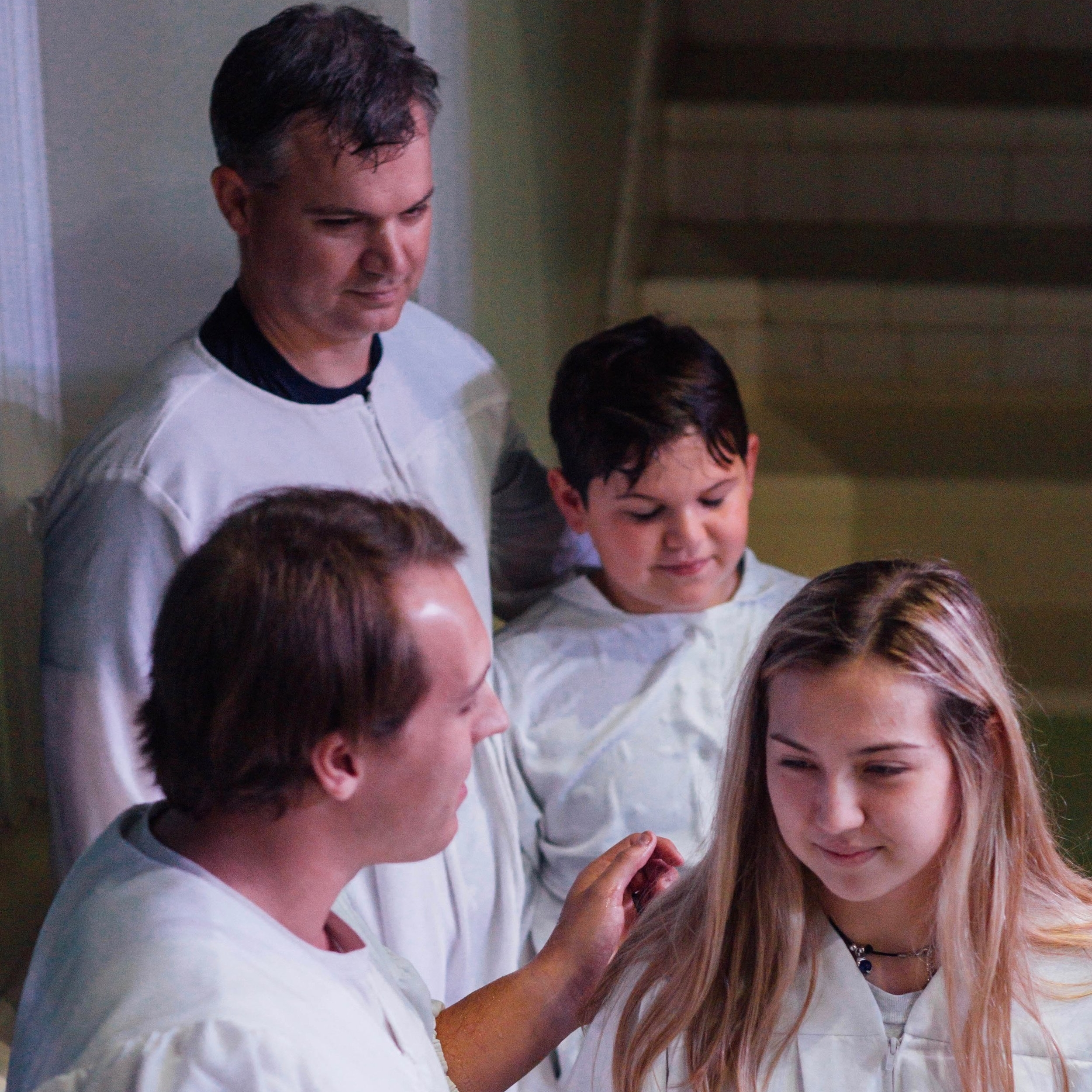In September, Mark, Owen, and Madeline Phillippi were baptized together. - We are thankful for families and individuals taking their next step in their faith journey.