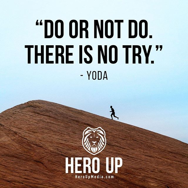 """""""Do or not do. There is no try."""" - Yoda⠀ ⠀ #quotes #confidence #love #motivation #selflove #success #life #goals #inspiration #entrepreneur #happy #loveyourself #positivity #happiness #believe #selfcare  #mindset #smile #business #selfconfidence #dreamjob #passion #business #successful #wealth #health #motivationmonday #heroup #jimsimcoe #yoda"""