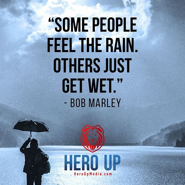 """""""Some people feel the rain other just get wet."""" - Bob Marley⠀ ⠀ #quotes #confidence #love #motivation #selflove #success #life #goals #inspiration #entrepreneur #happy #loveyourself #positivity #happiness #believe #selfcare #mindset #smile #business #selfconfidence #dreamjob #passion #business #successful #wealth #health #motivationmonday #heroup #jimsimcoe #bobmarley"""