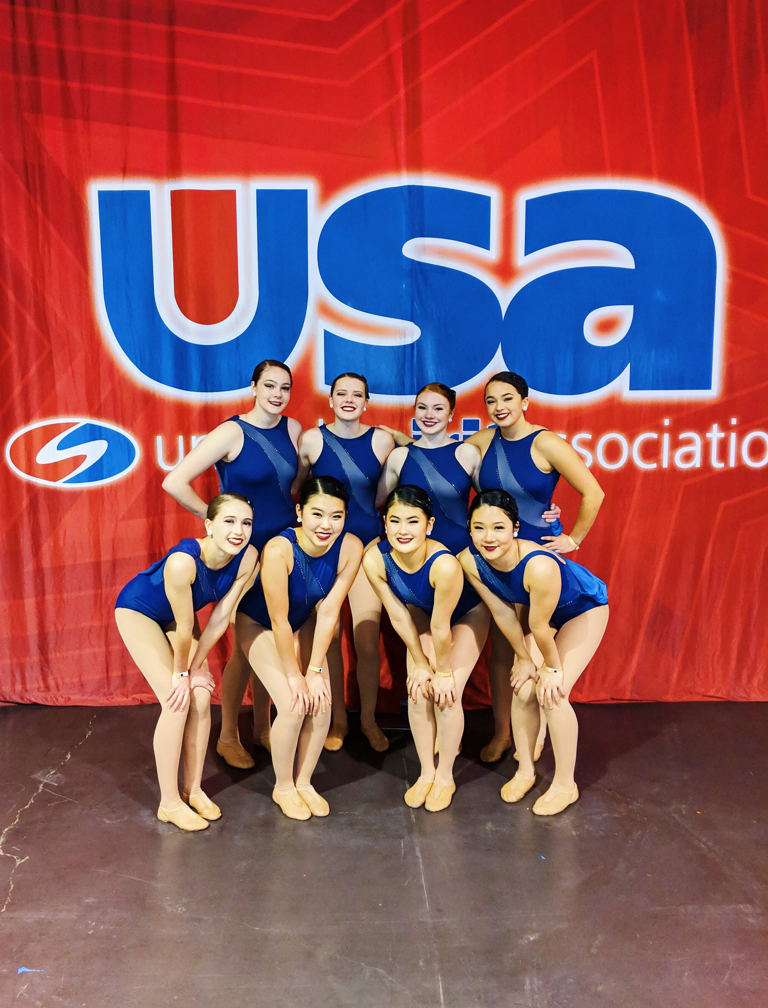 Paly Dance at the USA National competition in Anaheim, CA.
