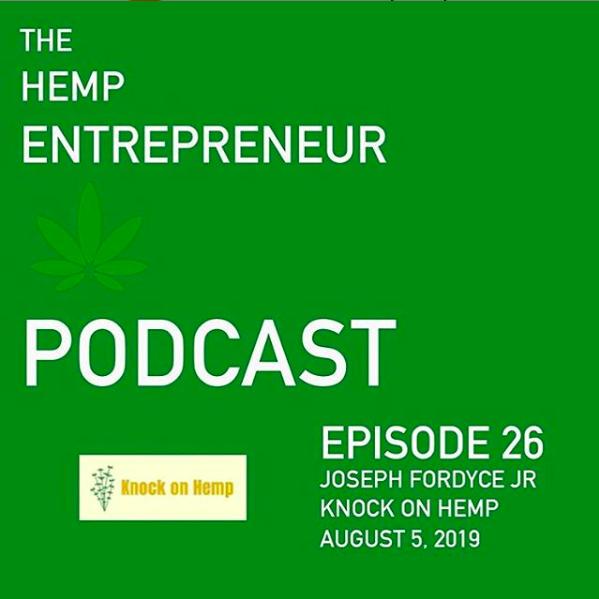 Hemp Entrepreneur Podcast Ep. 26 - Knock on Hemp