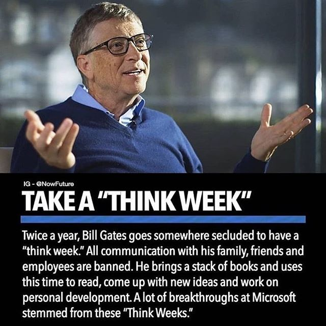 Repost from @investorsthink ... I feel this is great advice and if it's in your budget, take a few days up to a week to reevaluate your goals at least once a year. #ato