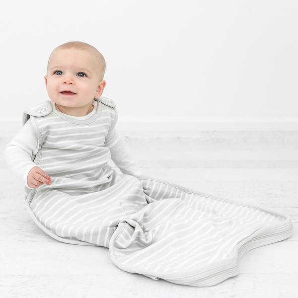 Because they spend more than half their lives sleeping - The woolino merino wool sleep bag fits babies from 3-24 months. Day in and day out, merino wool keeps them comfy no matter the temperature. Woolino ships their sacks with a handy in-room thermometer with a clothing guide.