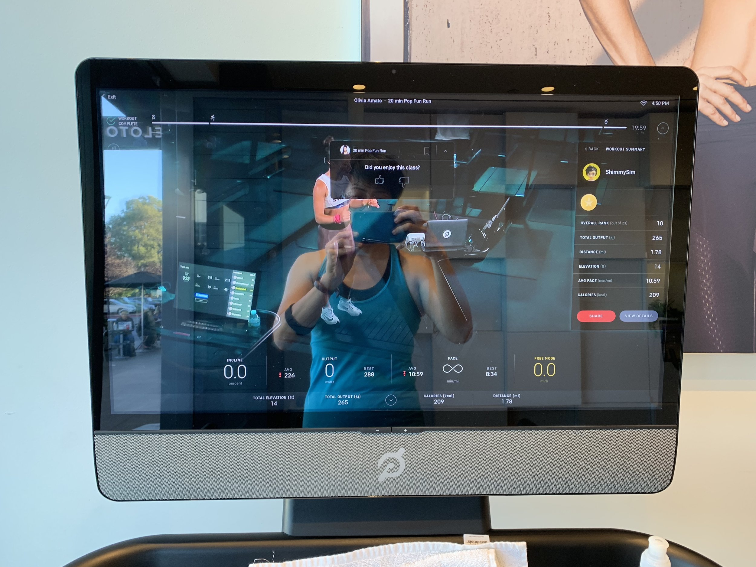 Content is king - I used to rely heavily on Netflix to get me through a treadmill run. Now, I actually look forward to running. Why? The music, leaderboard, metrics, coaching (Olivia Amato!) and community all make me want to show up for a run. Who am I???Content/Instructor: 10/10