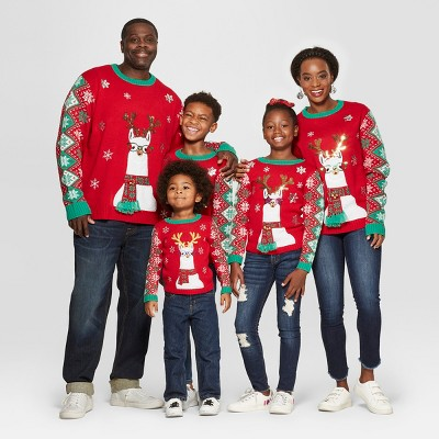 Llama Family Sweater Collection - For the entire family, prices start at $19.99