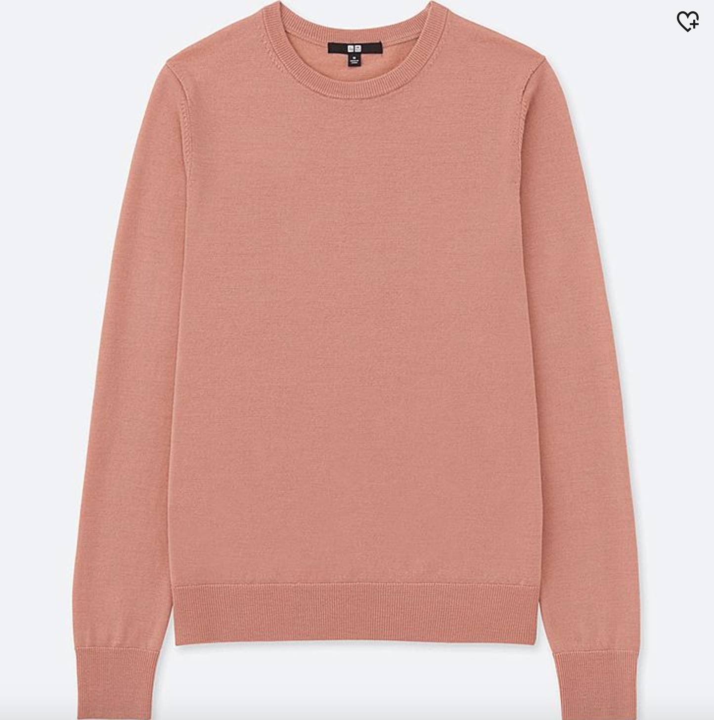 Uniqlo machine-washable merino sweater - This is a staple in my closet in three different colors. It washes so well and looks very flattering.