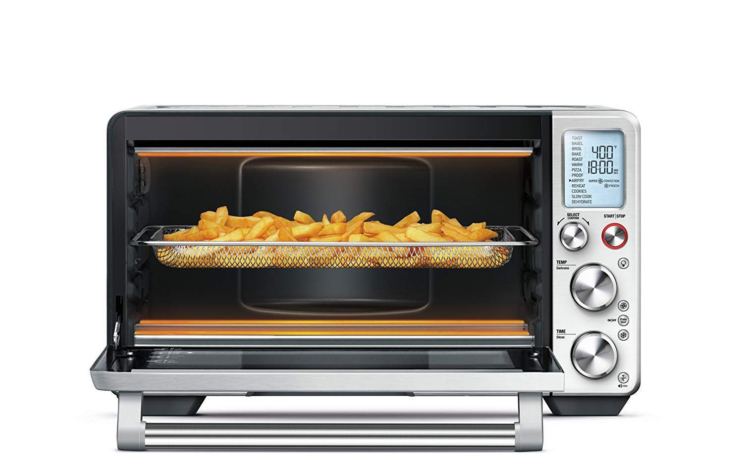 The one oven to rule them all - If she's been hinting at an air fryer for awhile, forget the air fryer. I recommend you consider a small convection oven instead. It will double as a powerful oven, air fryer and dehydrator. This is a workhorse for our home and guaranteed to make you #husbandoftheyear.