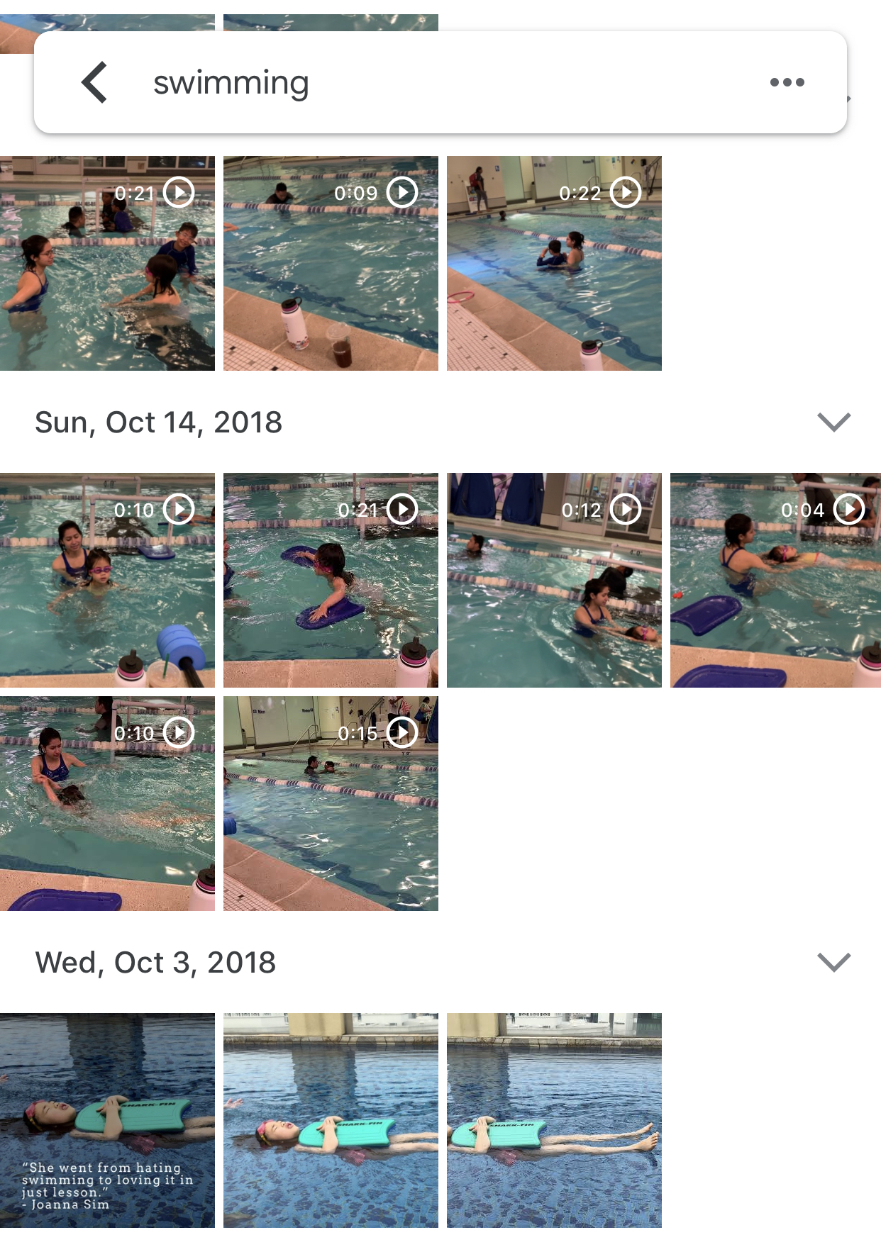 """And the digital ones too - Just a reminder to make sure you're going through your camera rolls to tag your favorite shots of the past year. I try to do it every month but looks like I'm a little behind now. We highly recommend Google photos for backing up. It has an amazing contextual search. Try searching """"bicycle"""" """"swimming"""" or even """"carseat"""". It gets pretty darn close!"""