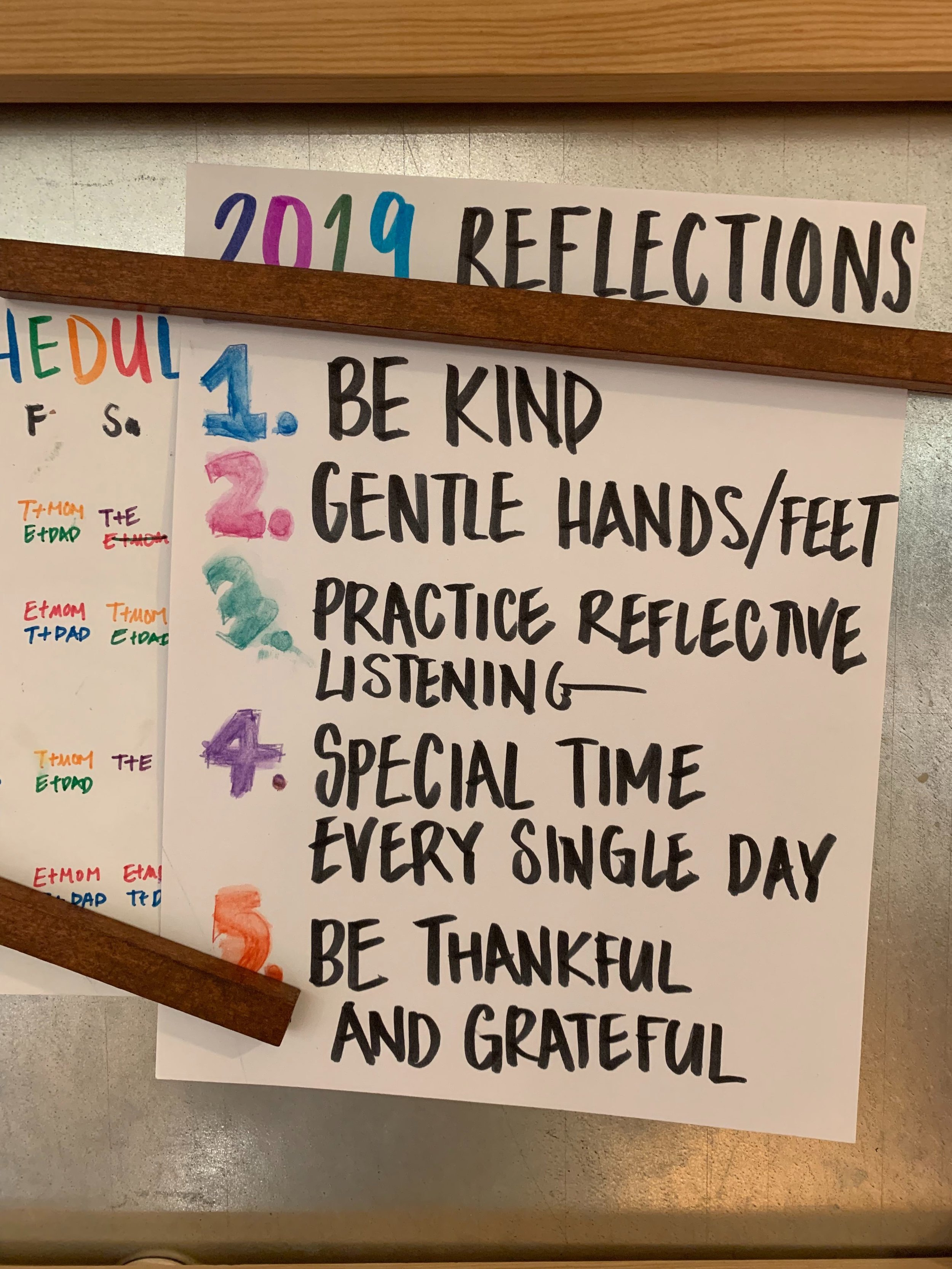 """Family year-end review - Last year, we focused on improving a few things. One of them was being intentional about """"special time"""" with the kids. That means, each of us taking turns to have 1:1 with each kid. It's something we will continue to do this year because we have seen what happens when we skip special time. What's been kind of sucking is the less-than-ideal sibling relationship. There's a lot of yelling and hitting. Because of our busy schedules (and addiction to learning from experts), we've scheduled an annual with our parenting coach. Looking forward to sharing back what we learn!"""