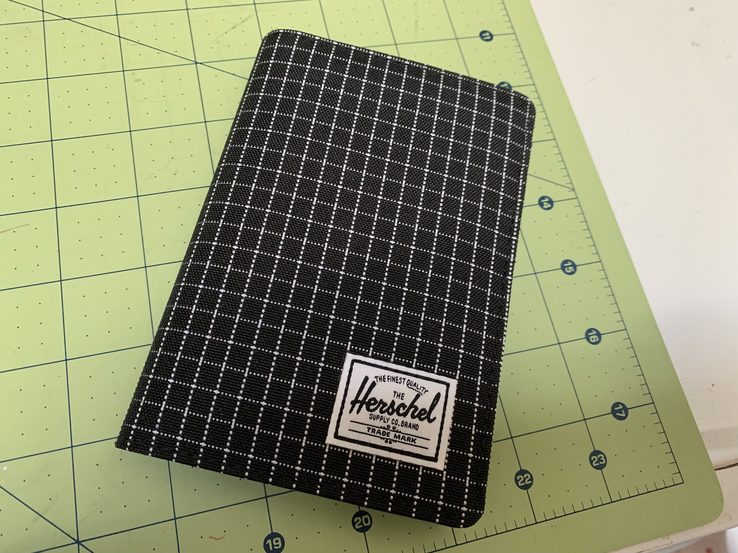 - You've probably also seen Hershel Supply Co. bags make a dent with the hipster crowd. This Canadian brand was founded in Vancouver. The only piece I own is my favorite RFID blocking passport holder.