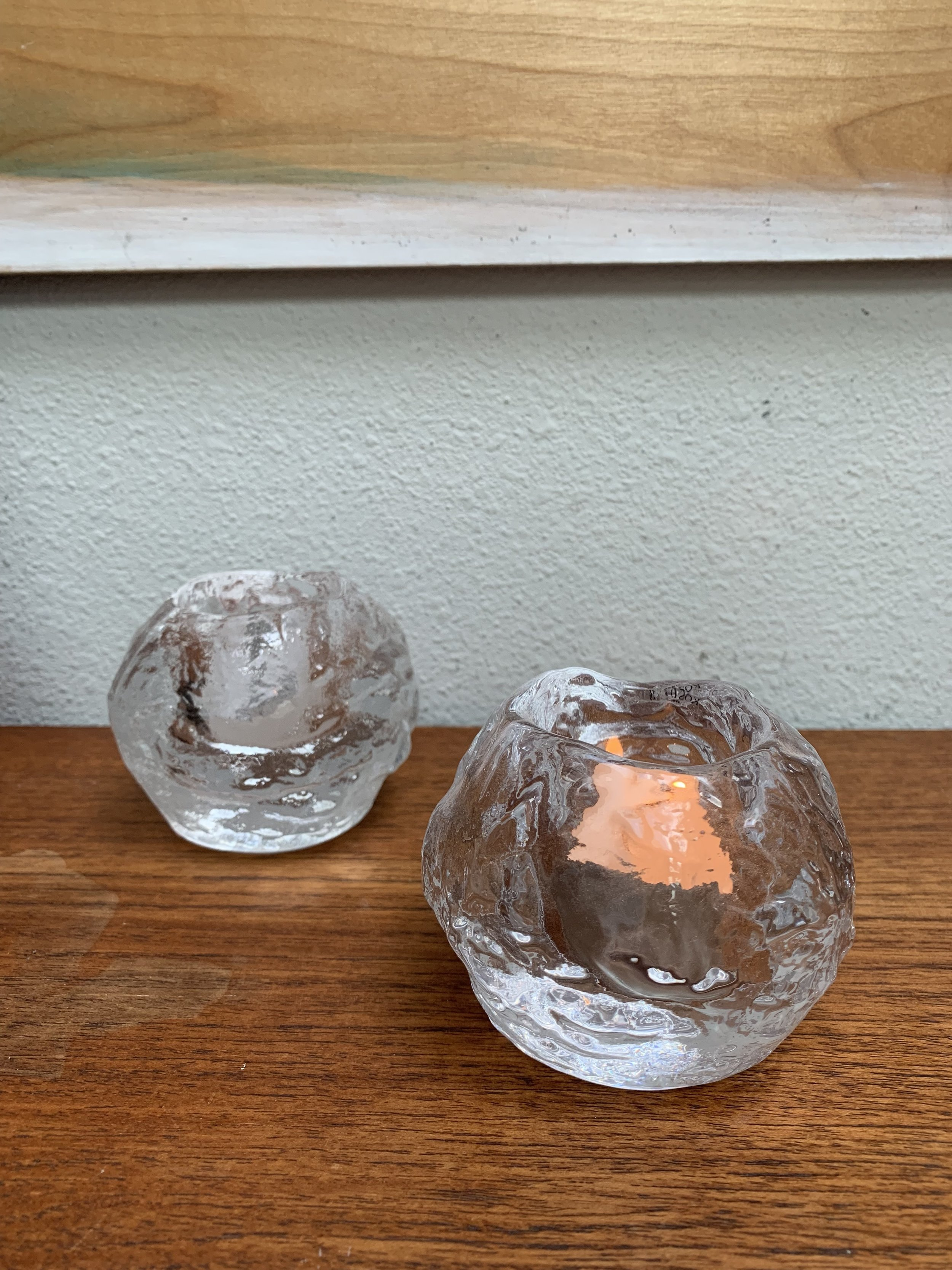 Orrefors glassworks - In terms of glassworks, we love nordic light snowball voltages. The original nordic light snowballs were designed by Swede Ann Wolf in 1973 in the Swedish village of Orrefors. They are incredibly well-made and distinct. A great gift for almost any home. The ones that were gifted to us are from Kosta Boda. Also available at BBB.