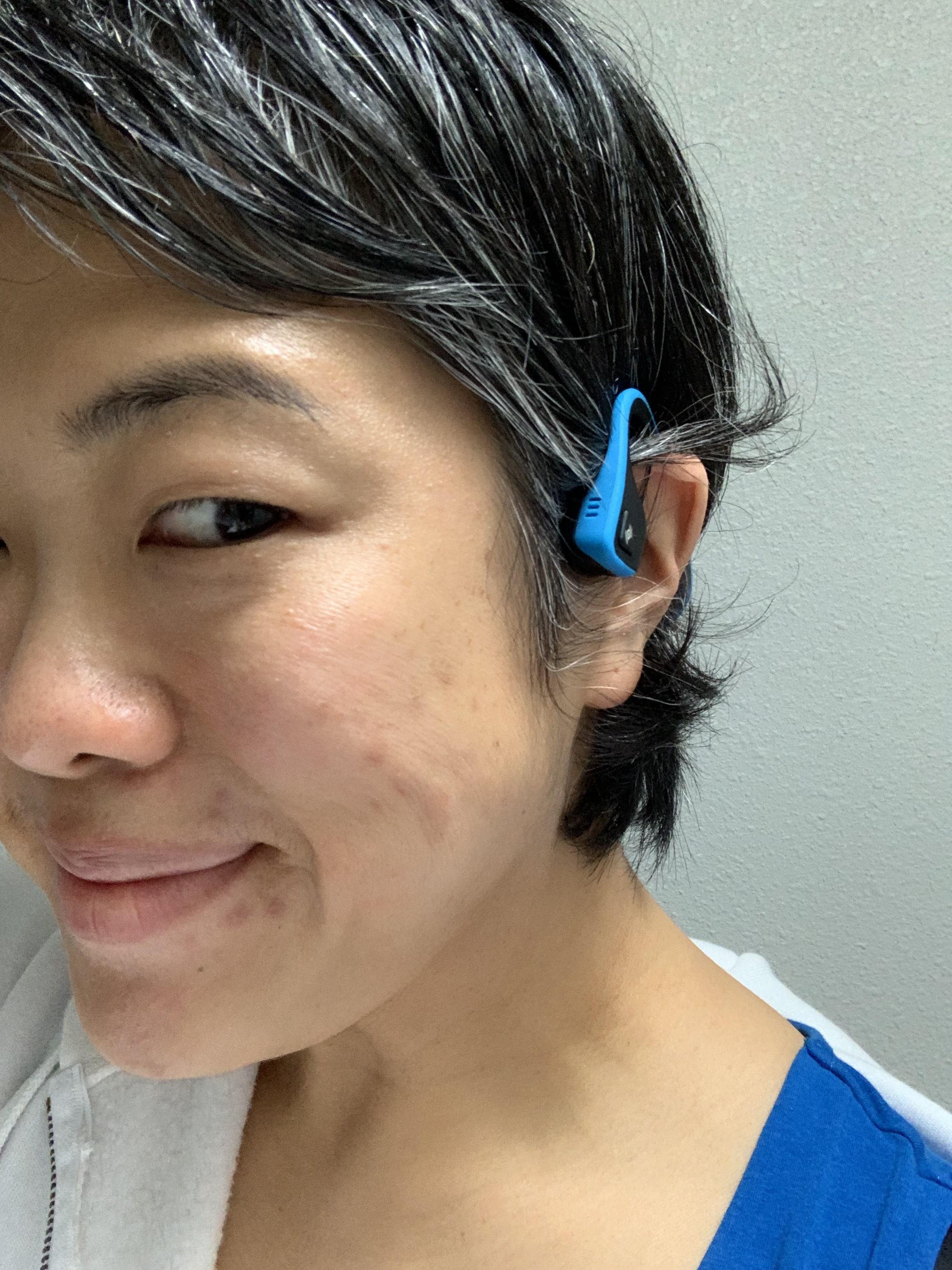 For those with smaller ears - We've been loyal customers of AfterShokz headphones for years now. They *never* fall out because it doesn't actually goes inside the ears. If you ever heard him swear at his headphones falling out, this is it! Gift it with a specially curated Father's Day playlist.