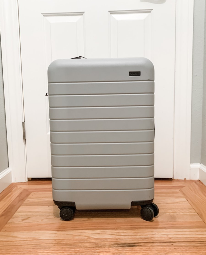Going the extra miles - It's time to upgrade that suitcase. This suitcase not only has top-notch features, it also ships with a great travel charging bank/adapters. Dads LOVE this! I have a comprehensive review of why both hubby and I have fallen in LOVE away luggage. For $20 off your order, use my referral link.