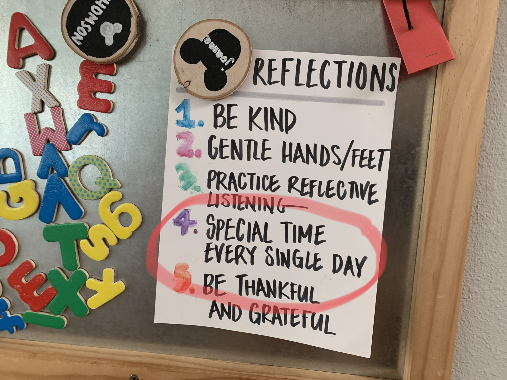 Rule #4: Special time every single day