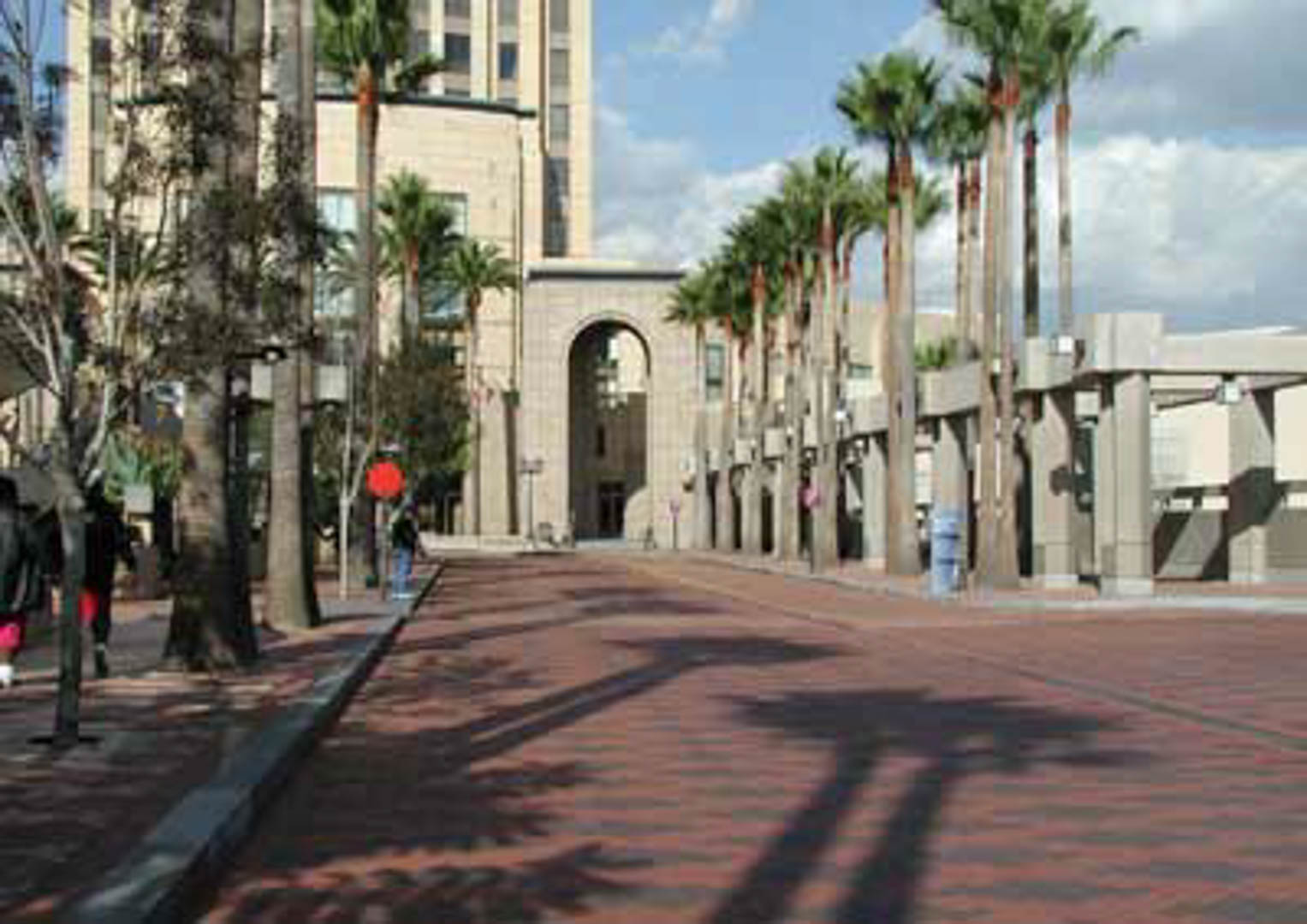 Project:  Metropolitan Transit Authority Complex (MTA Gateway Complex)   Location:  Los Angeles, California   Description:  Exterior Paving Over 250,000 square feet of brick paving was installed utilizing a sand-set installation system.