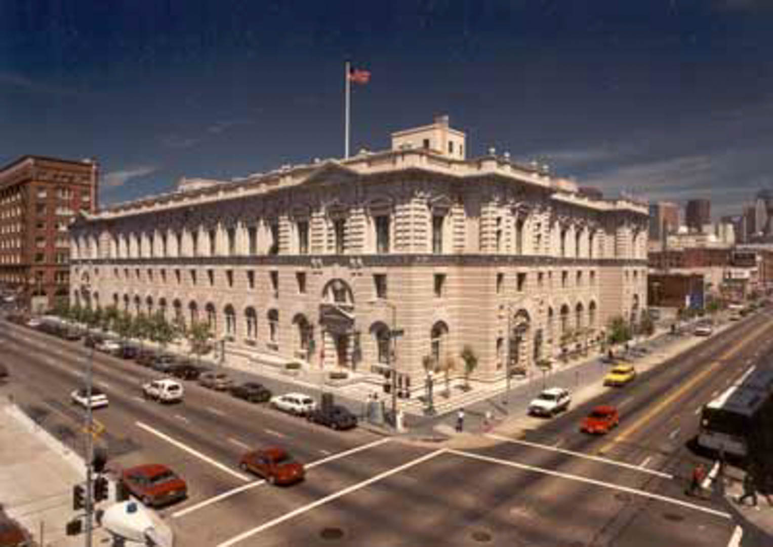 Project:  San Francisco U.S. Court of Appeals   Location:  San Francisco, California   Description:  Complete removal, salvage, reconfiguration and re-installation of exterior and interior historical stone.