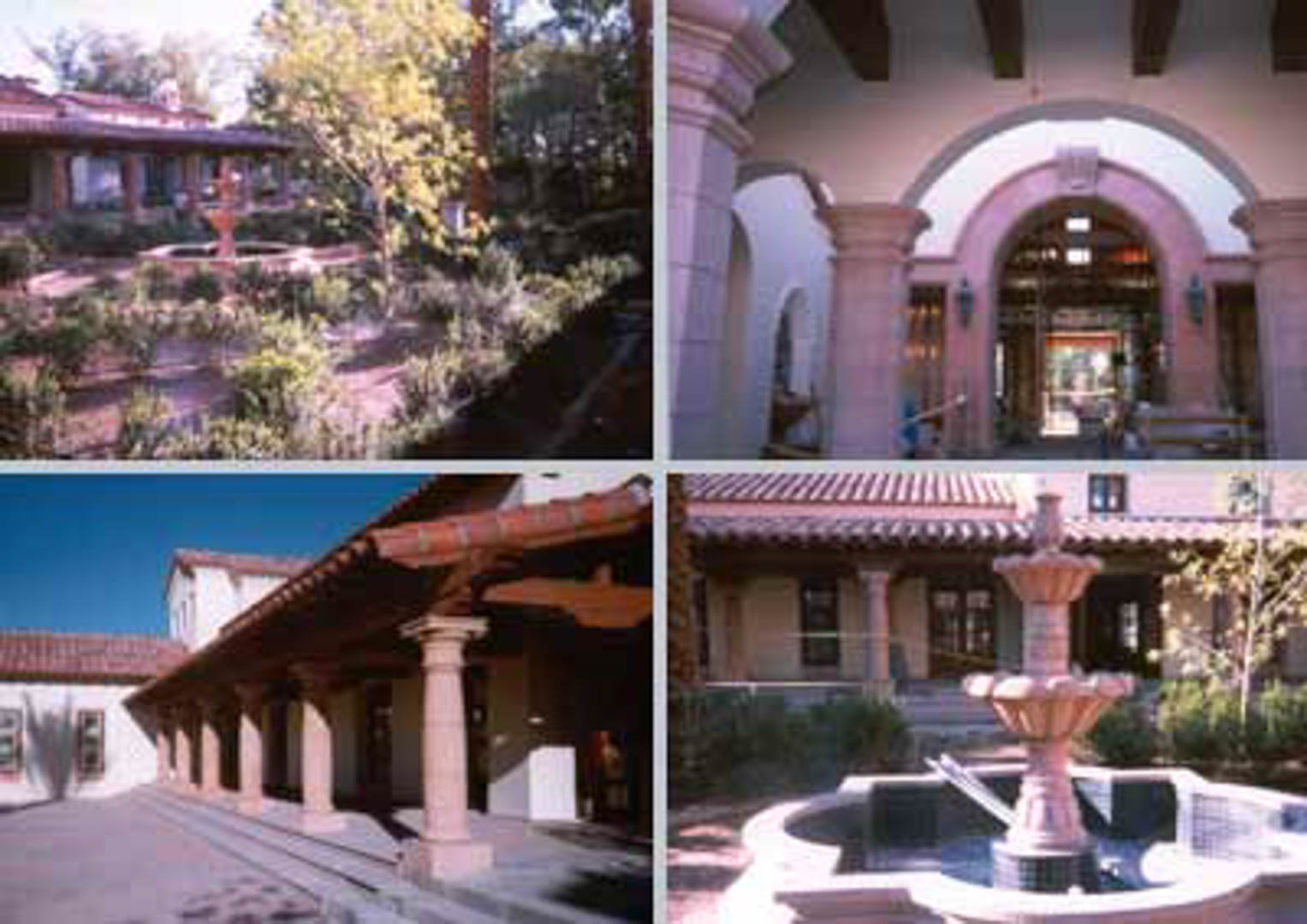 Project:  Private Ranch Villa   Location:  Cannot be disclosed   Description:  Over 200 Cantera stone columns were installed along with 65,000 square feet of paving and cladding. Look closely at the hand carved molding and fountain work.