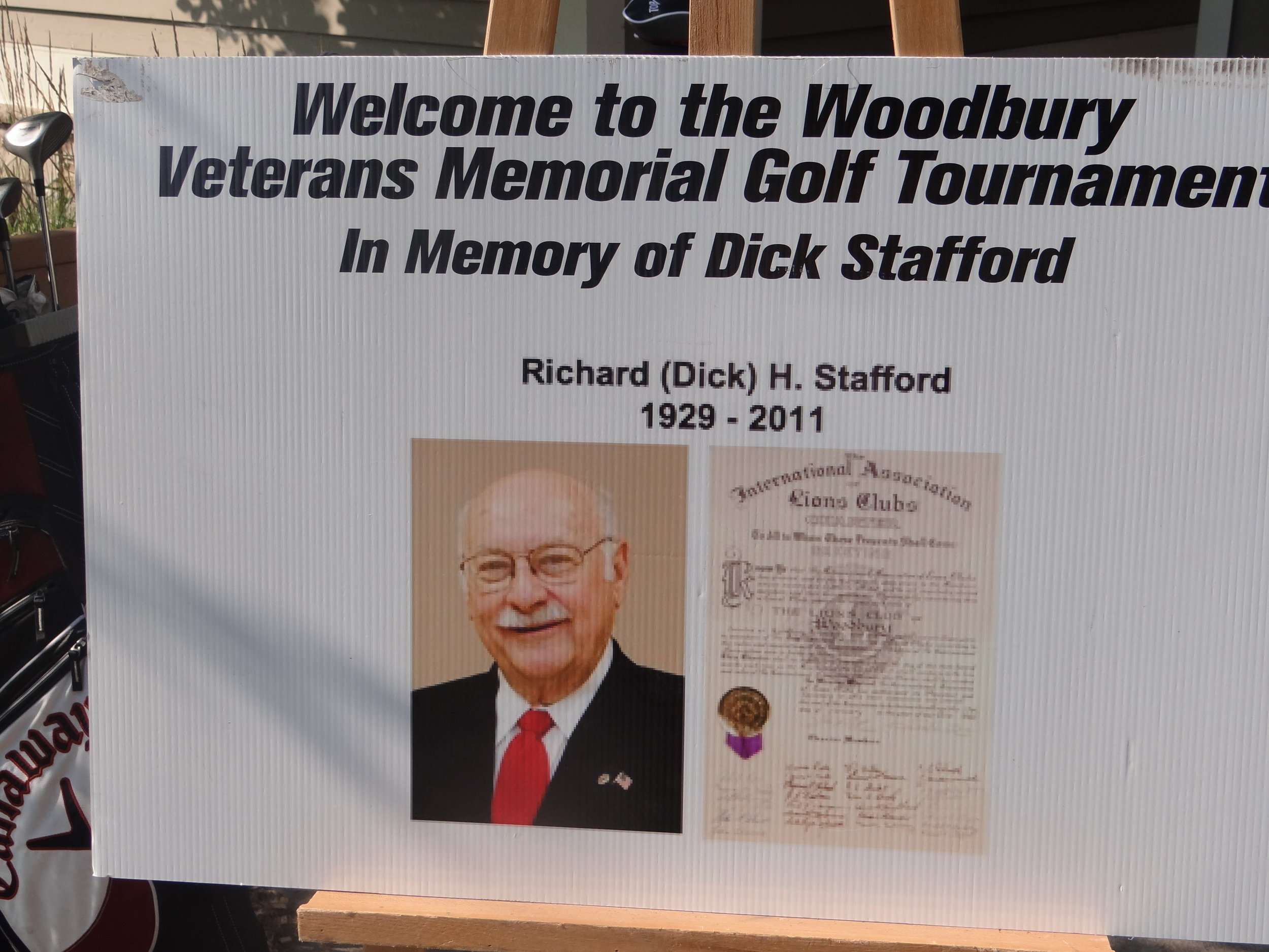 August 12th, 2019 will be the 9th annual Lions Golf Tournament in Memory of Dick Stafford.