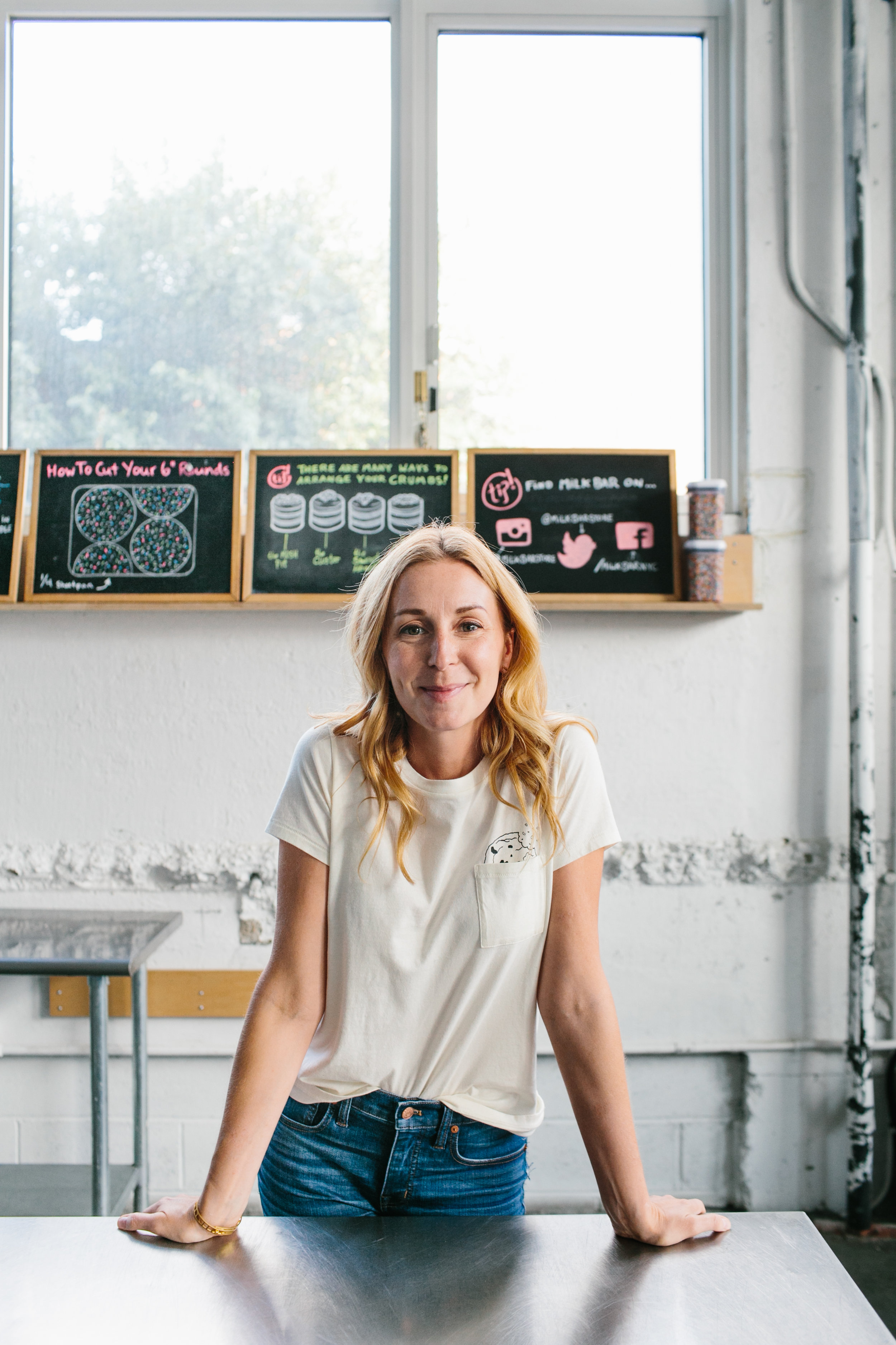 Christina Tosi,    Milk Bar     (photo by Jen Trahan) Episode one, season one.   Favorite quote from Christina'a episode : I was told [by investors]… that I was difficult. That made me laugh because I take any conversation with a a smile and I like human interaction and I like to connect. I thought that was the funniest comment anyone would have. Just because I believe my business is worth this much and you might believe that my business is worth something else that the intersection of that is 'difficult.'   Key skill:  Though there is pride in learning and knowing how do do everything yourself, the reality is being a great business person means that you're doing nothing yourself. All you're doing is learning how to spot great talent and inspire them and give them a mission and support them. And it is the weirdest, strangest vacuum to be in and the one you have to learn to be so great at in order to be successful.   Recommended reading:    What to Say When You Talk to Yourself      Episode link   .