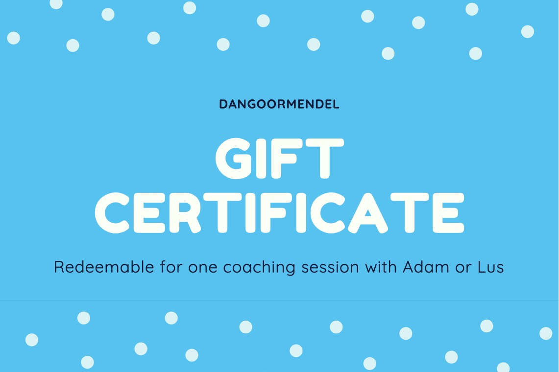 Refer a new client. Get a free coaching session.