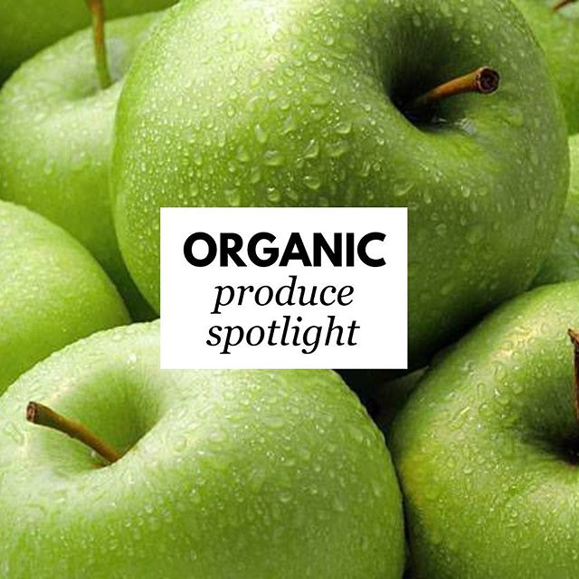 OUR PRODUCE ORGANIC * AFFORDABLE  FRESH * CONVENIENT  Organic Apples are a great source of slow-release energy and contain potassium and vitamins C and B. They're rich in antioxidants, flavonoids, and fiber, and are on the EWG Dirty Dozen list. Our shoppe offers DELICIOUS, CRUNCHY Organic Gala and Granny Smith Apples, so be sure to stop in and get yours soon!  Try this healthy organic apple sandwich snack (we sell all of the ingredients!) Great for kids! 2 small organic apples, cored and cut crosswise into 1/2-inch thick rounds 1 Tsp organic lemon juice, optional 3 T peanut or almond butter 2 T Lily's sugar-free, vegan chocolate chips 3 T granola  Spread one side of half of the apple slices with nut butter and sprinkle with chocolate chips and granola. Top with remaining apple slices, pressing down gently to make the sandwiches. Transfer to napkins or plates and serve. Offering ORGANIC PRODUCE is one more thing we do to help you live your day healthier, simpler, and easier!  LET US BE YOUR LOCAL SOLUTION! SHOP HERE. FEEL BETTER.