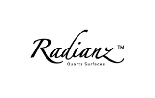 Radianz® - Radianz® quartz is a durable, high-gloss surface with a timeless, natural look. Our cutting-edge compression manufacturing method enables us to create a high-density material comprised of high-purity, natural quartz, providing a luxurious, low-maintenance surface suitable for a multitude of interior applications.