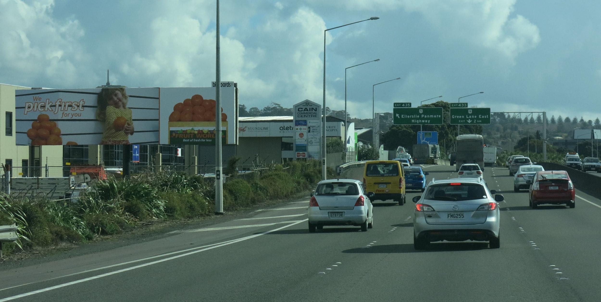Viewed City-bound