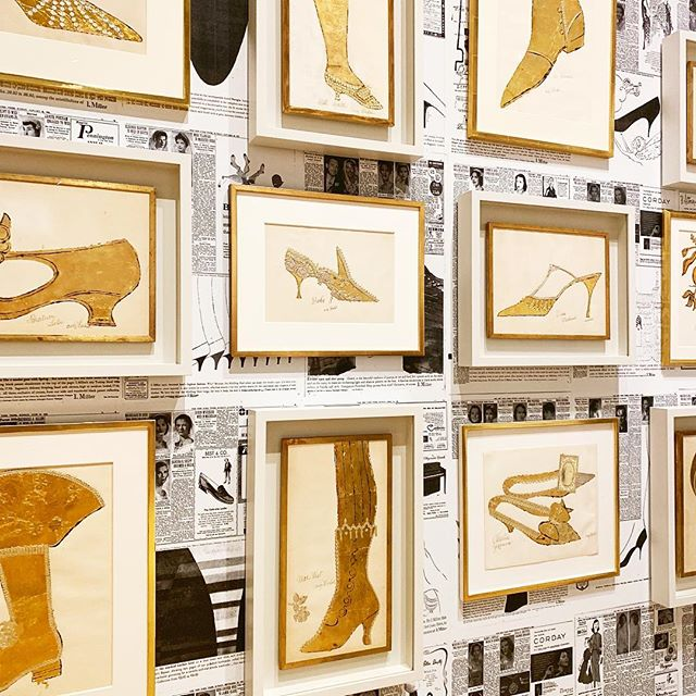 Feeling fancy for Christmas, I love these pieces by #AndyWarhol he painted of famous entertainers shoes. -jLx #ArtLover #ArtCurator #WarholExhibit #NewYorkCity #NYC #ShoeAddict #FineArt #ContemporaryArt #WhitneyMuseum