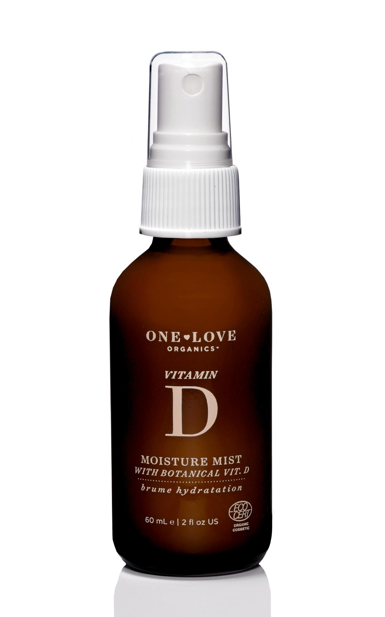 One Love Vitamin D Moisture Mist, Available at One Love Organics